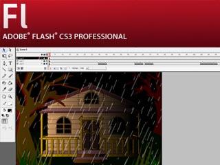Download FLA CS3 Animation Rain | NINEQUADRAT