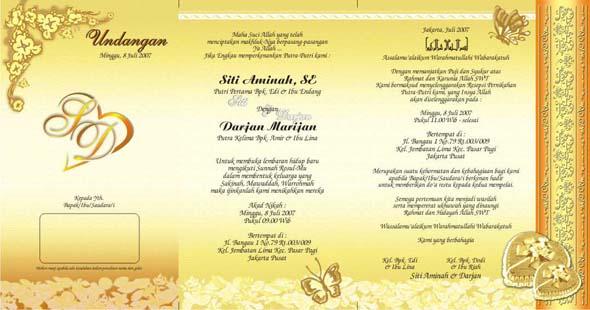 Download Desain Undangan Pernikahan Emas1
